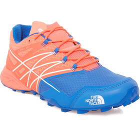 The North Face W's Ultra MT Shoes Rocket Red/Blue Quartz
